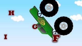 getlinkyoutube.com-Monster Trucks Teaching Children Uppercase Letters