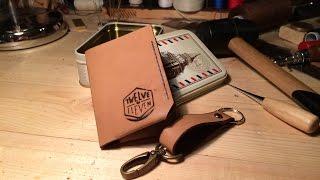 getlinkyoutube.com-Кожаный кошелек своими руками от Twelve to eleven ©Александр Никитин