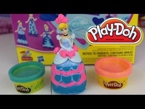 Plastilina Play Doh Princesas Disney La Cenicienta|Mundo de Juguetes