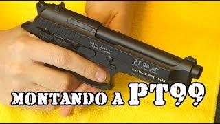 getlinkyoutube.com-MONTANDO A PT99 - Airsoft Brasil - Clube 6mm - Luiz Rider