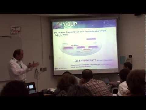 Symposium Hy-Sup à l'AIPU2012 Partie 2 Marcel Lebrun