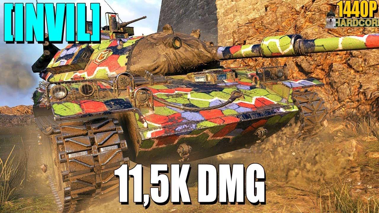 STB-1: 11.5k damage [INVIL] - World of Tanks