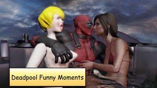 getlinkyoutube.com-Deadpool Funny Moments Compilation | Funny Cut Scenes Gameplay