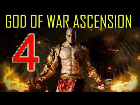 God of War Ascension - walkthrough part 4 let's play gameplay god of war 4 walkthrough part 1 PS3 HD