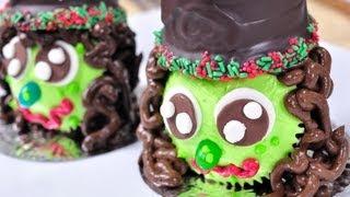 คัพเค้กแม่มด ต้อนรับเทศกาล ฮาโลวีน