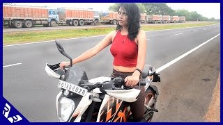 getlinkyoutube.com-How to Ride a motorcycle | Beginners Guide | Girlfriend Edition | RWR