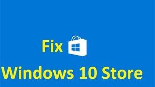 getlinkyoutube.com-Fix windows 10 store!!
