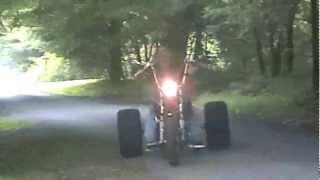 Harley Davidson trike chopper wild bill