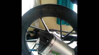 Satria F150 knalpot NOB1 dual sound system
