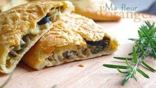 Recette de pizza calzone /  Pizza calzone recipe