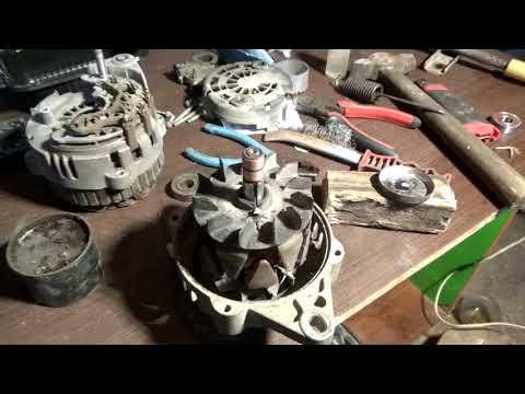 Расположение щеток генератора в Шевролет Каптива