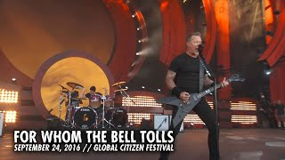 Metallica: For Whom the Bell Tolls (Live - Global Citizen - New York, NY - 2016) width=
