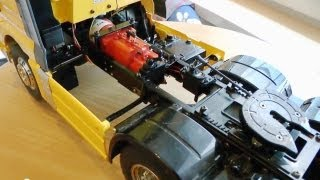 getlinkyoutube.com-RC TRUCK l  GEAR ENGINE VEROMA l TRUCK l NICE RC STUFF l