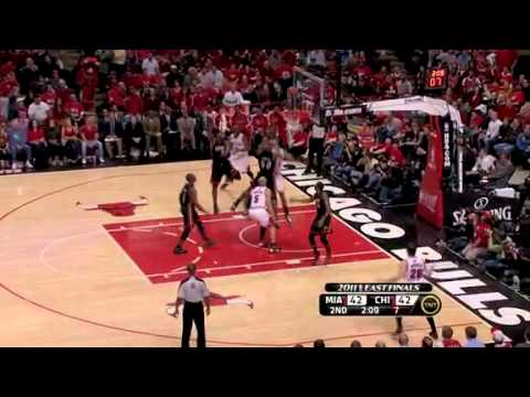 NBA Playoffs 2011: Miami Heat Vs Chicago Bulls Game 1 Highlights (0-1)