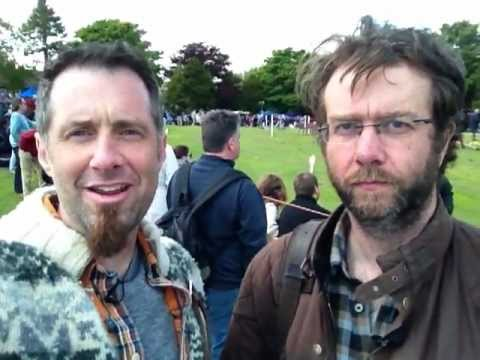 My Scottish Leather Brother at the Highland Games