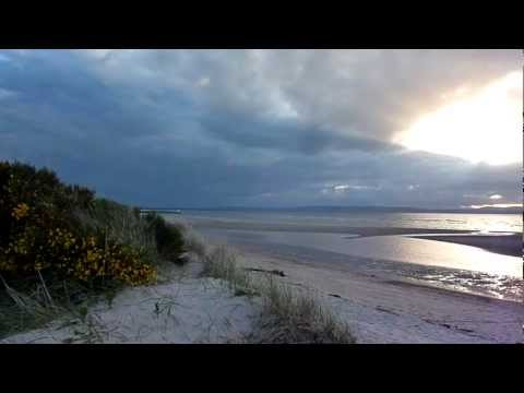 Nairn Beach – Sun 3 June  2012  – 9pm.