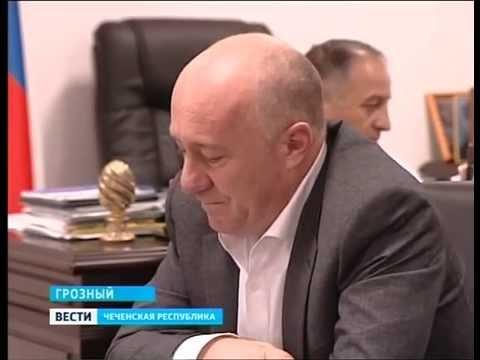 Встреча Министра промышленности и энергетики ЧР Таймасханова Г.С. с представителями компании DERWAYS