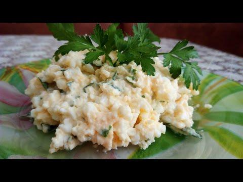 Фото салат яичный