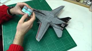 getlinkyoutube.com-Hasegawa : F-14A Tomcat 1/48 Scale : Final Conclusion