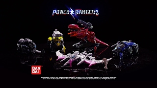 SABAN'S POWER RANGERS Battle Zords Commercial by BANDAI width=