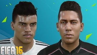 getlinkyoutube.com-FIFA 16 Player Faces and Tattoo Update Ft. Firmino and Adelaïde!