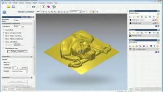 getlinkyoutube.com-3D Model Club   Tutorial   How to Hollow a relief using ArtCAM Jewelsmith