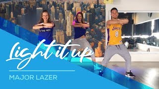 getlinkyoutube.com-Light it up - Major Lazer - Easy Dance Fitness Choreography