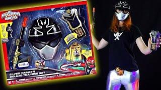 getlinkyoutube.com-Silver Ranger Training Set Review (Power Rangers Super Megaforce)