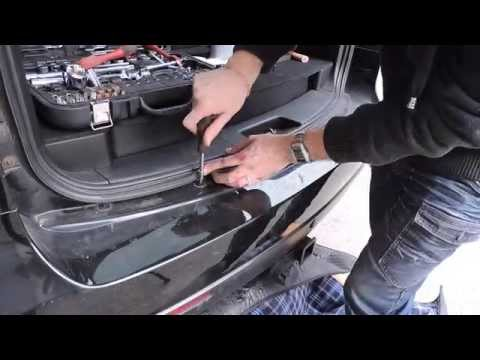Как снять заднии бампер на Ssang Yong Kyron.How to Removing the rear bumper for Ssangyong