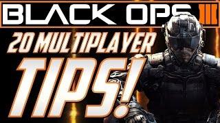 20 Tips For Black Ops 3 Multiplayer! (COD BO3 Multiplayer Gameplay Tips)