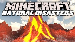 getlinkyoutube.com-Minecraft Mods | NATURAL DISASTERS MOD! (Earthquakes, Meteors & Volcanoes) | Mod Showcase