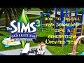 How to Install and Download The Sims 3 Generations 100% WORKS! Detailed! view on youtube.com tube online.