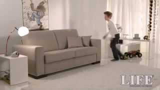getlinkyoutube.com-Divano letto RAPIDO- Divano letto rapido rete Luxury Styling 710