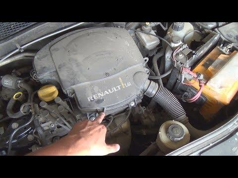 Вибрация двигателя на рено логан