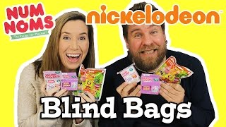 getlinkyoutube.com-Num Noms Series 3 And Nickelodeon Blind Bags