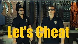 getlinkyoutube.com-Let's Cheat on GTA5 PC  - HOW TO wear POLICE/COP UNIFORM online (freeroam) - NOELonPC