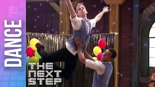 "The Next Step - Extended Max & Eldon ""Oops a Daisy"" Duet"