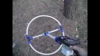 getlinkyoutube.com-Металлоискатель Clone PI-W с глубинной катушкой