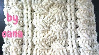 getlinkyoutube.com-crochet cable pattern stitch