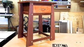getlinkyoutube.com-Make It - Secret Compartment Table for my Nines
