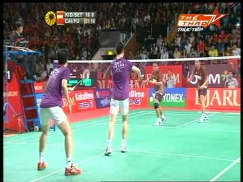 Indonesia Open Superseries Premier 2011 MDSF CAI / FU [CHI] vs KIDO / SETIAWAN [IND]  P3
