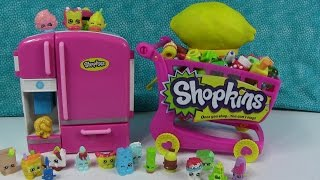 Play-Doh Surprise Eggs Hidden Toys Shopkins So Cool Fridge Cart & More