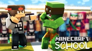 getlinkyoutube.com-Minecraft School - THE BULLY BEATS UP LITTLELIZARD!