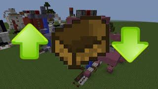 สร้างลิฟท์เรือใน Minecraft