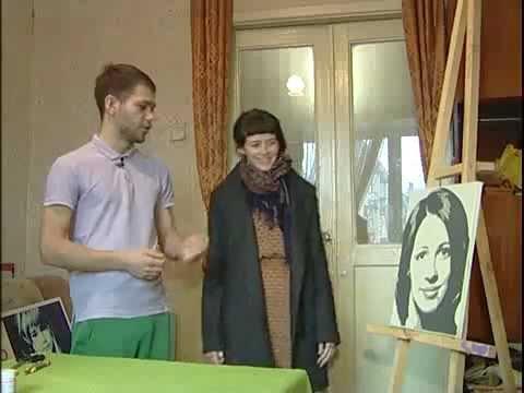 Портрет моны лизы в стиле поп арт