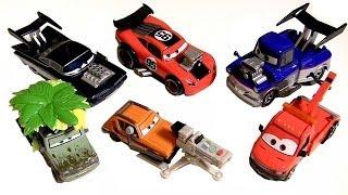 getlinkyoutube.com-Cars 2 Diecasts Grem with Camera, Wild Miles Axlerod, Towin Eoin, Custom Jay Ward DisneyPixarCars