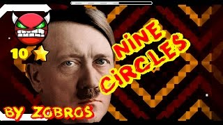 getlinkyoutube.com-Hitler en un Demon de Geometry Dash - Nine circles by Zobros