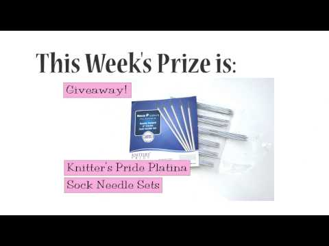 Winners Announced!  Knitter's Pride Platina Sock Needle Sets