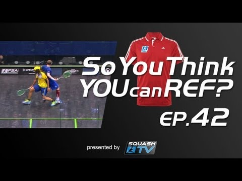 Squash : So You Think You Can Ref? EP.42 : Gaultier v Walker - Sinned or Sinner?