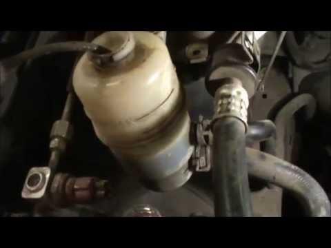 Мицубиси лансер замена масла гидроусилителя руля